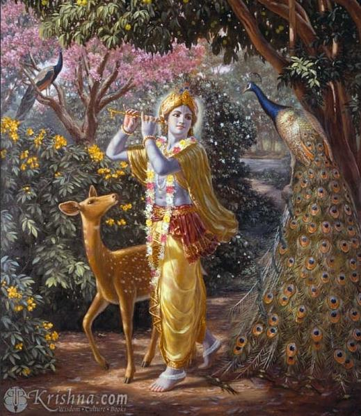 krishna the supreme personality of godhead