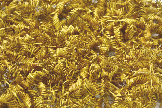 http://gizmodo.com/archaeologists-baffled-by-2-000-tiny-gold-spirals-disco-1717507894