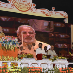 PM Modi offers arati to Sri Chaitanya Mahaprabhu at Gaudiya Math