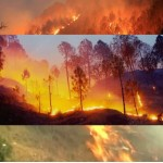 Uttarakhand forest fires – Choppers return due to poor visibility