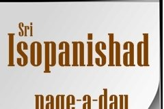 Isopanishad - page a day