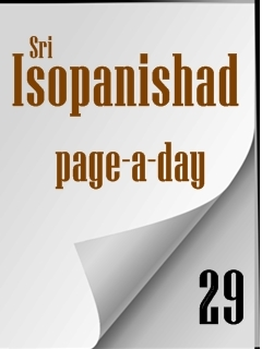 Isopanishad page a day 29