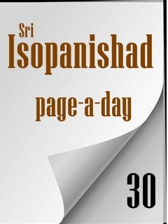 Sri Isopanishad page-a-day