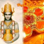 Thanking Lord Dhanvantari, the Founder of Ayurveda, on Dhanteras