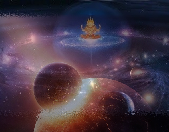 Moon is created by Lord Brahma