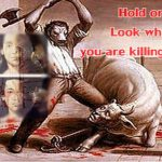 Animal slaughter as livelihood? Unheard of in a civilized society