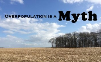 overpopulation is a myth