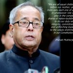 Will be a pilgrim like all of you – President Pranab Mukherjee in his last address to the nation