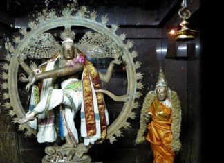 Nataraja as source of Indian temple dance