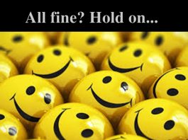 Life all well? Hold on