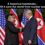If Trump and Kim can leave the past behind and be happy, You also can!